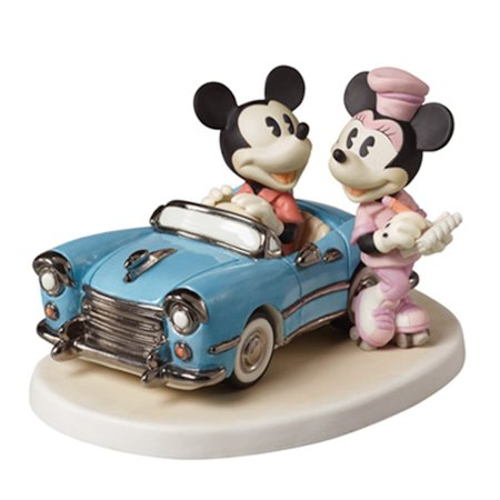 Precious Moments 152706 You Make My Heart Race - Mickey at Drive-In Figurine