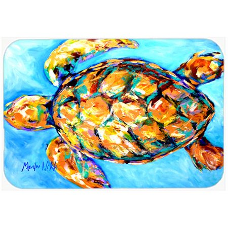 Carolines Treasures Sand Dance Turtle Kitchen Bath Mat