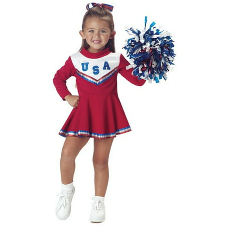 Toddler Red Cheerleader Costume](Eagles Cheerleader Costume)