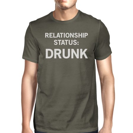 Relationship Status Mens Dark Grey Funny Graphic Witty Quote