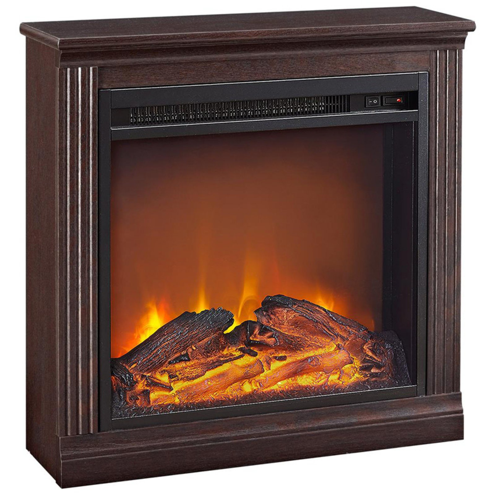 Click here to buy Ameriwood Home Bruxton Electric Fireplace, Multiple Colors by Ameriwood.
