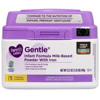 Parent's Choice Gentle® Non-Gmo* Infant Formula Powder, 21.5 oz