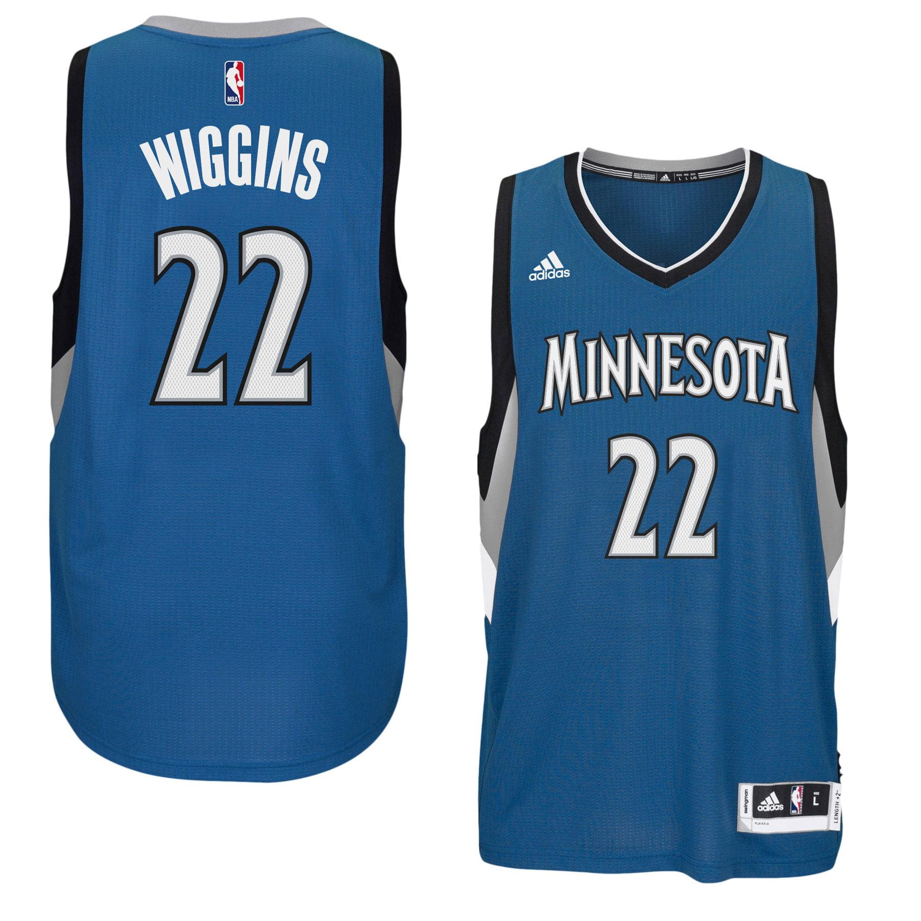 buy popular 65a69 2e6bc Andrew Wiggins Minnesota Timberwolves NBA Swingman Road ...