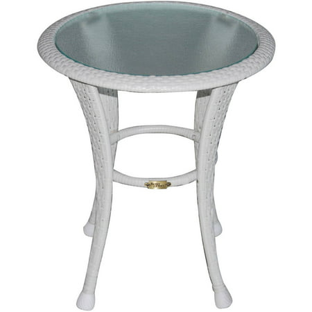 Better homes and gardens azalea ridge outdoor side table for White patio table
