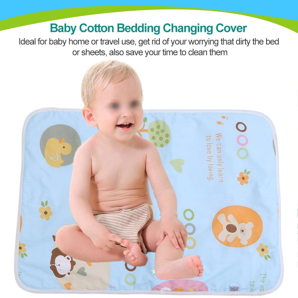 Changing Pad,Ymiko Baby Cotton Urine Mat Diaper Nappy Bedding Changing Cover Pad,  Changing Urine Diape