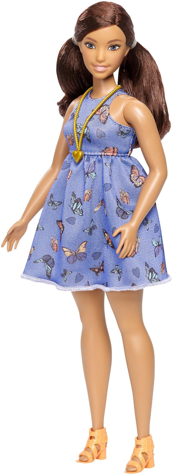 Barbie Fashionistas Curvy Doll 66 Beautiful Butterflies by Mattel