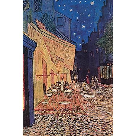 Cafe Pavement Terrace at Night 1888 by Vincent Van Gogh 36x24 Museum Art Print