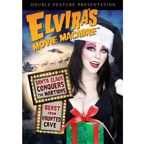 Elvira's Movie Macabre: Santa Claus Conquers The Martians / Beast From Haunted Cave