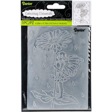 "Embossing Folder 4.25""X5.75""-Fairy Garden - image 1 de 1"