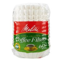 Melitta 8-12 Cup White Basket Coffee Filters, 600 ct Bag