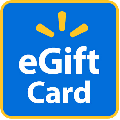 image about Printable Walmart Gift Card referred to as eGift Card