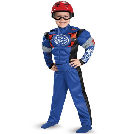 Race Car Driver Muscle Toddler Costume
