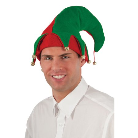 Felt Elf Hat with Bells - Elf Hats For Kids