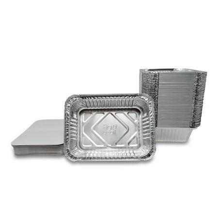 Fig & Leaf (60 Pack) Premium 1.5-LB Takeout Pans with LIDS l Medium 7