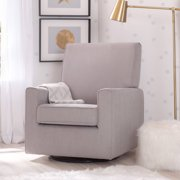 delta children ava nursery glider swivel rocker chair dove grey - Swivel Rocker Chairs For Living Room