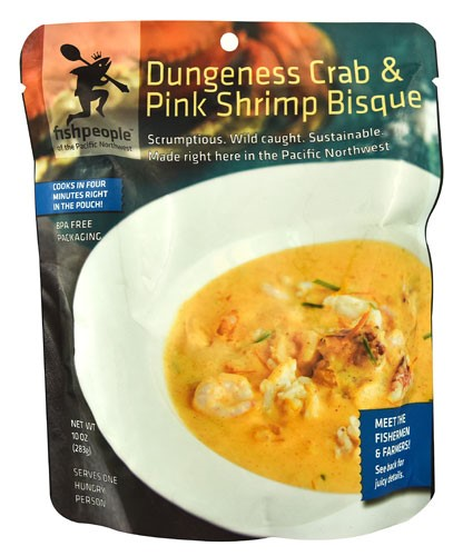 Fishpeople Dungeness Crab & Pink Shrimp Bisque, 10 Oz by Fishpeople