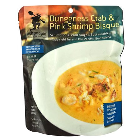 Fishpeople Dungeness Crab & Pink Shrimp Bisque, 10 Oz