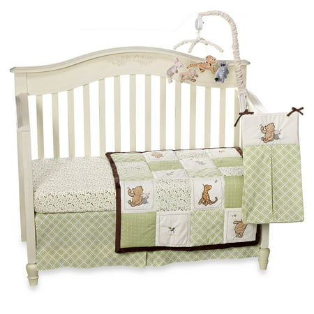 Baby Crib Bedding Set by Disney - My Friend Pooh Collection - Classic Pooh 4 Piece Set