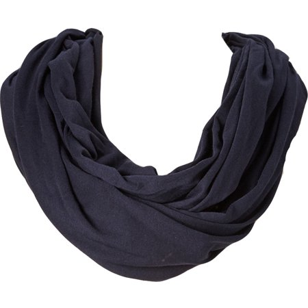 - Amtal Women Solid Stripe Color Large Infinity Jersey Knit Fall Soft Casual Scarf