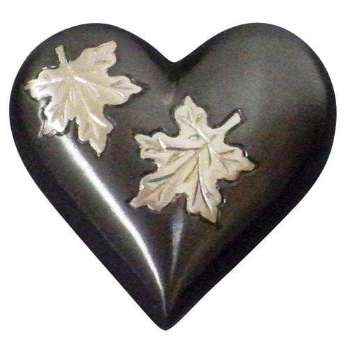 UrnsDirect2U Falling Leaves Heart Keepsake Urn