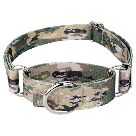 Country Brook Petz™ Mountain Viper Camo Martingale Dog Collar