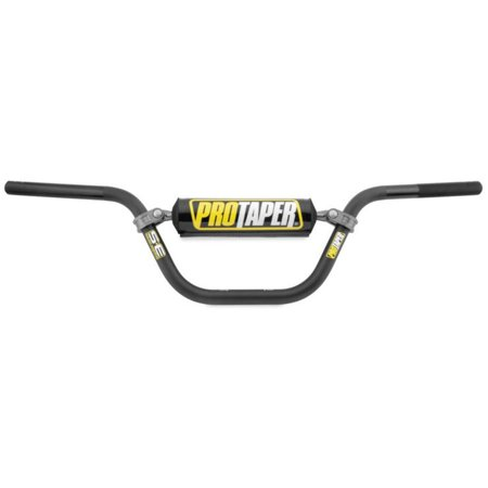 ProTaper SE Mini Bike Bends / School Boy High Handlebar - Platinum, Made from proprietary 5mm 2000 series T6 aluminum alloy for superior tensile and.., By Pro