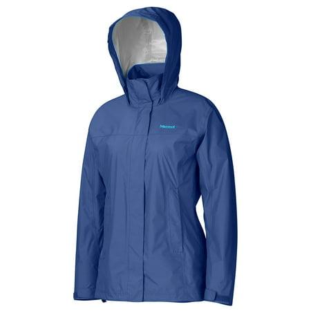 Marmot Womens PreCip Shell Jacket, Arctic Navy, Large