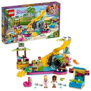 LEGO Friends Andrea's Pool Party 41374 Building Set with Mini Dolls