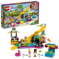 Deals on LEGO Friends Andreas Pool Party 41374 Building Set