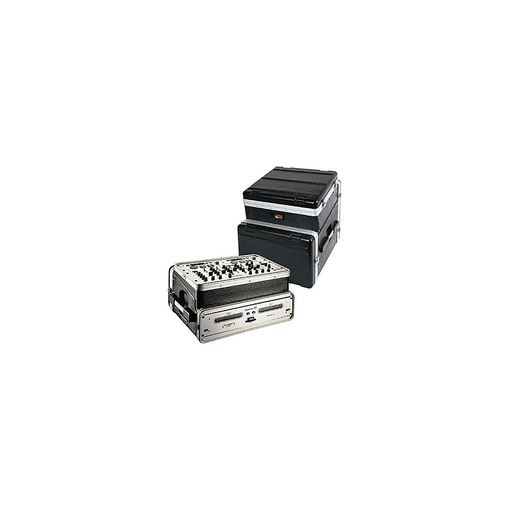 Gator 10U Top, 6U Side Console Audio Rack (GRC-10X6) by