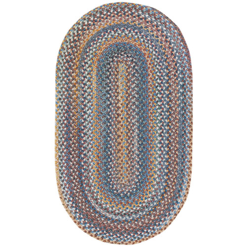 Old Country Braided Oval Area Rug