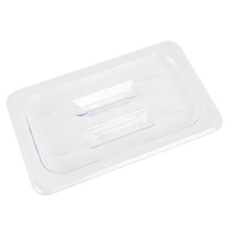 Excellante Quarter Size Solid Cover for Polycarbonate Food Pan (Solid Polycarbonate)