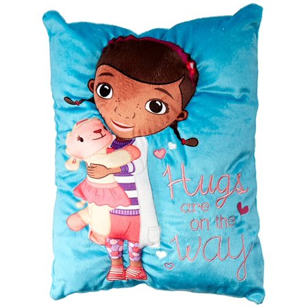 Animal Character Pillows : Disney Doc McStuffins Plush Character Pillow - Walmart.com