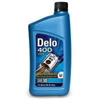 Delo 400 SAE 30 Motor Oil - 1 Quart Bottle