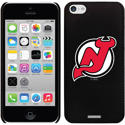 New Jersey Devils Primary Logo Design on iPhone 5c Thinshield Snap-On Case by Coveroo