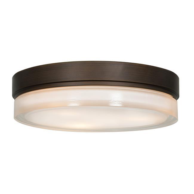 Access Lighting 20776LEDD-BRZ-OPL Solid LED Bronze Flush Mount Ceiling Light - image 1 de 1