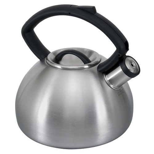 Copco Brushed Stainless Steel Valencia 2.3-Quart Tea kettle