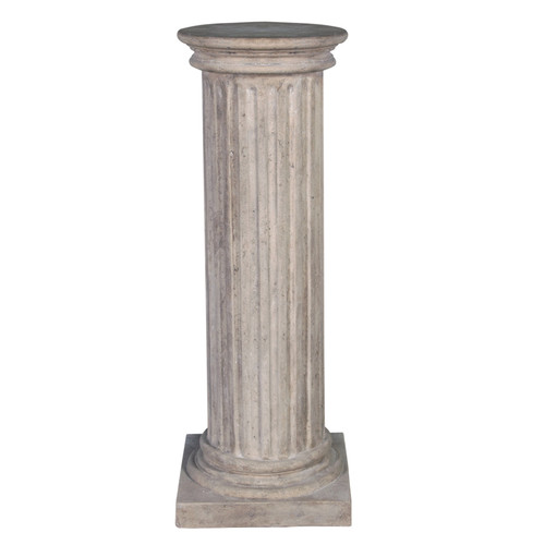 Design Toscano Classical Greek Fluted Pedestal Sculpture