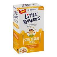 2 Pack - Little Colds Honey Pops For Childrens Cough 10 Pops Each