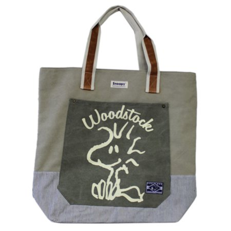Peanuts Woodstock Doodle Art Graphic Design Sturdy Canvas Tote Bag](Peanuts Woodstock)