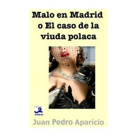 Malo en Madrid o El caso de la viuda polaca - eBook