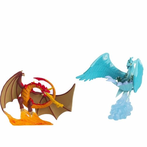 Bakugan Duo Diorama Series 1 Dragonoid vs. Skyress Mini Figure 2-Pack