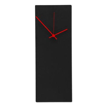 Ten Seconds Studio Metal (Metal Art Studio Blackout Rectangular Wall Clock)