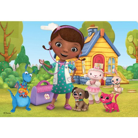 Disney Doc McStuffins Pet Vet 24-Piece Puzzle, Set of 2