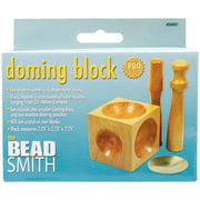 "Wood Doming Block 2.25""X2.25""X2.25""-"