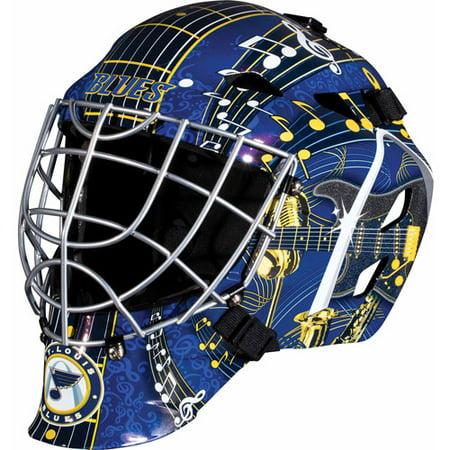 Franklin Sports GFM 1500 Goalie Face Mask - St. Louis Blues