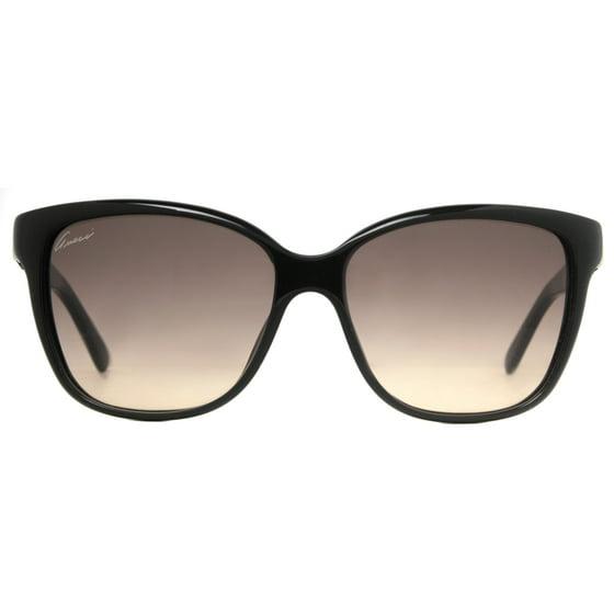 1e1e384c800 GUCCI - Gucci GG 3645 S D28 ED Shiny Black Brown Gradient Women s ...