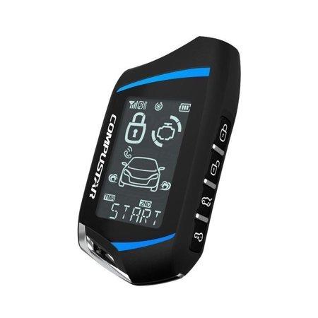 Compustar 2WT9R-FM 2 Way LCD 4 Button FM Remote Replacement
