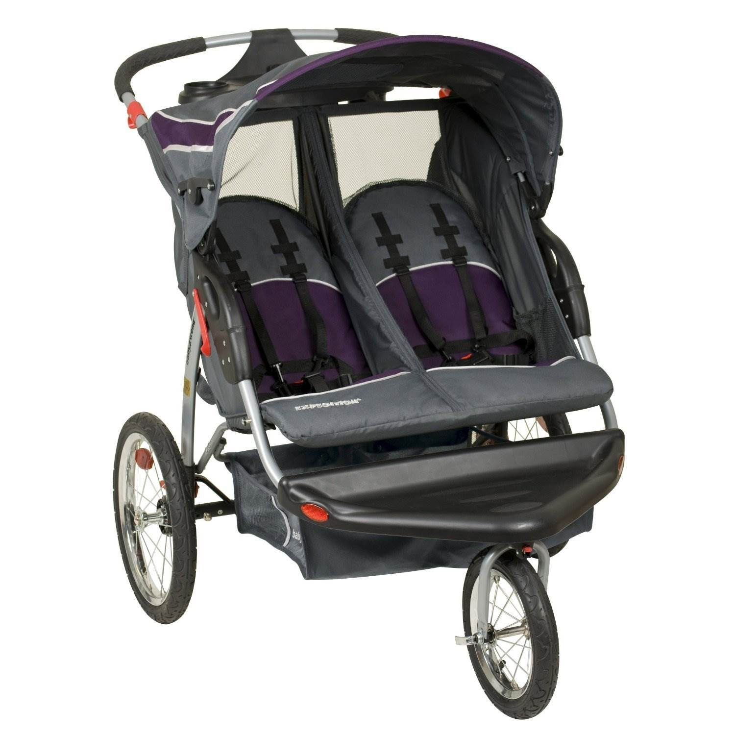 Baby Trend Lightweight Expedition Double Jogger Stroller ...