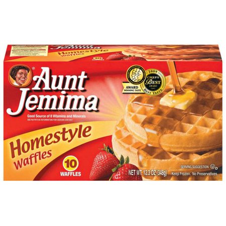aunt jemima frozen waffles nutrition facts
